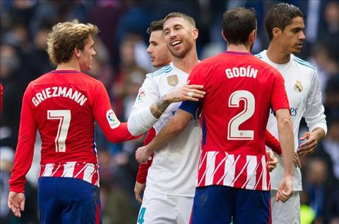Real va Atletico deu ko vui