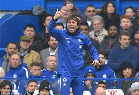 Antonio Conte khong ngan ngai chi thang ra van de cua Chelsea trong phong hop bao.