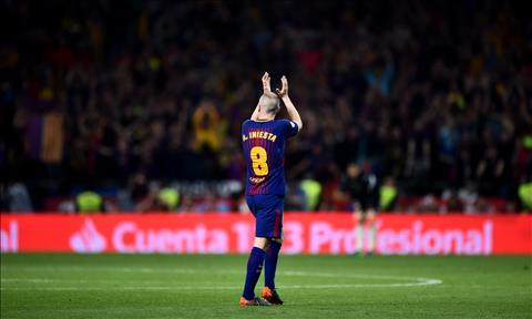 Andres Iniesta Nuoc mat cho dieu waltz cuoi cung hinh anh