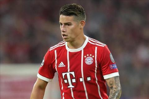 James Rodriguez cua Bayern