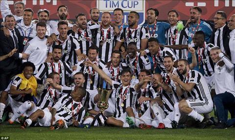 Ket qua Juventus vs AC Milan 4-0 chung ket cup quoc gia Italia hinh anh