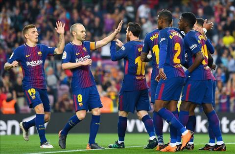 Barcelona thang Villarreal 5-1