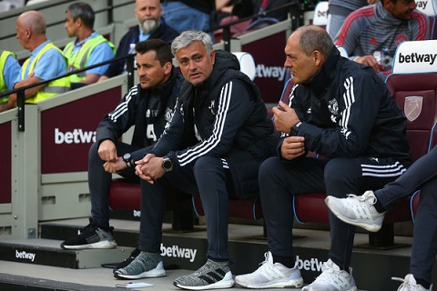 Mourinho vs West Ham
