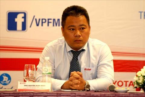 Pho Ban dieu hanh giai Nguyen Minh Ngoc la sep VFF tiep theo bi VPF dung moi lam viec.