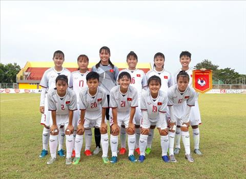 Ket qua U16 nu Viet Nam vs U16 nu Thai Lan ban ket U16 AFF Cup hinh anh