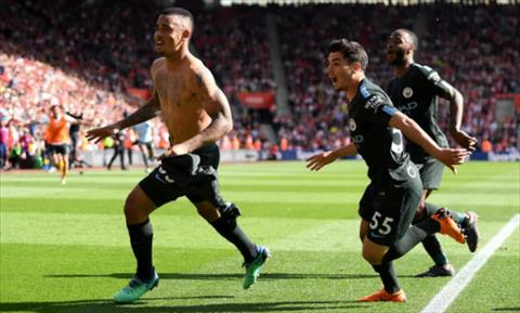 Ket qua Southampton vs Man City vong 38 ngoai hang Anh 2018 hinh anh
