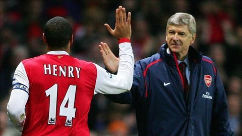 Wenger chia tay Arsenal Henry kham phuc suc chiu dung Giao Su hinh anh