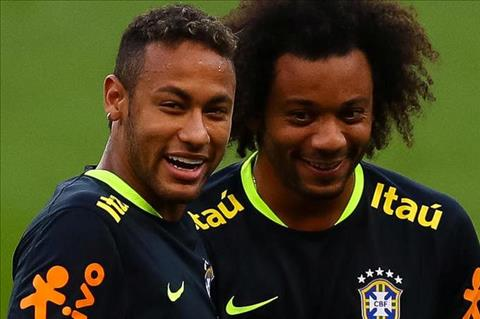 Marcelo muon Neymar toi Real trong tuong lai hinh anh