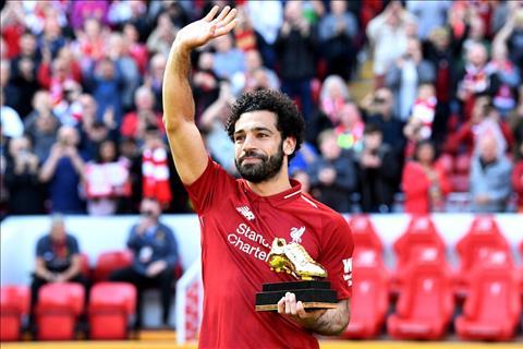 Mohamed Salah gianh giai Chiec giay vang