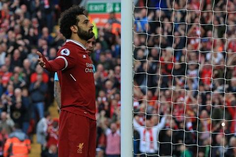 Salah phá kỷ lục ghi bàn Premier League