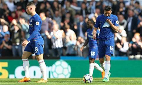Newcastle 3-0 Chelsea Gary Cahill đổ tại thảm bại cho MU hình ảnh