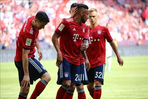Vong 34 Bundesliga 201718 Bayern tham bai nghet tho Top 4 hinh anh