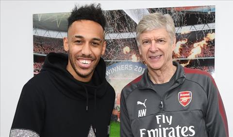 Aubameyang tiếc nuối vì Wenger ra đi sớm ở Arsenal hình ảnh