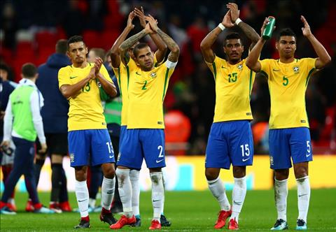 Cau chuyen cua Dani Alves xoay quanh DT Brazil.