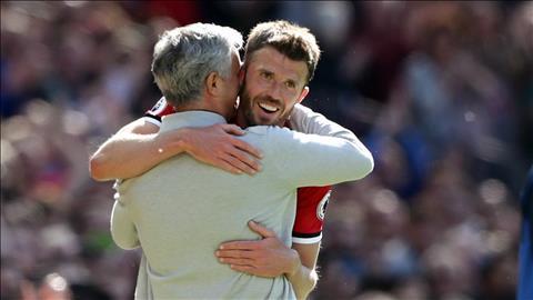 Carrick ca ngợi Jose Mourinho hay nhất thế giới