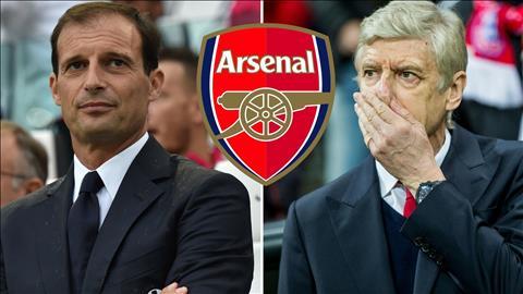 Max Allegri Arsene Wenger Arsenal