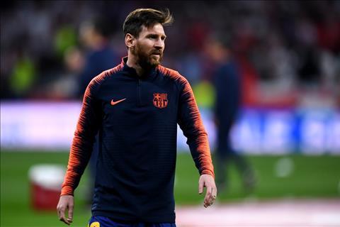 Lionel Messi ko thi dau
