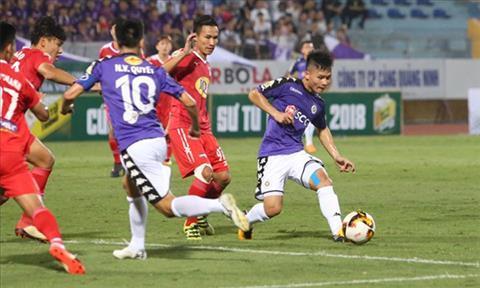 Trực tiếp Hà Nội vs HAGL tứ kết lượt về cúp quốc gia 2018 hôm nay hình ảnh