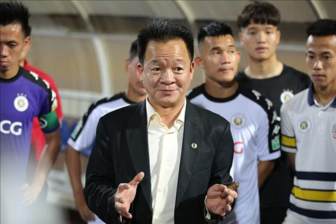 Bau Hien thuong nong cho Ha Noi FC sau tran dau