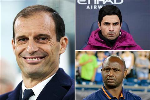 Arsenal bổ nhiệm Allegri chứ không điên đi chọn Arteta hay Vieira hình ảnh