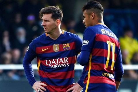 Leo Messi sợ Neymar tới Real Madrid