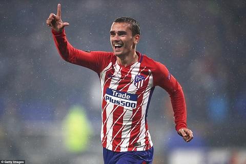 Atletico Madrid sẽ mua Sergio Aguero thay Antoine Griezmann hình ảnh