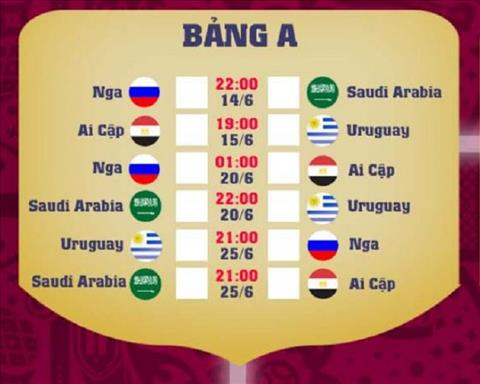 Bang A World Cup 2018