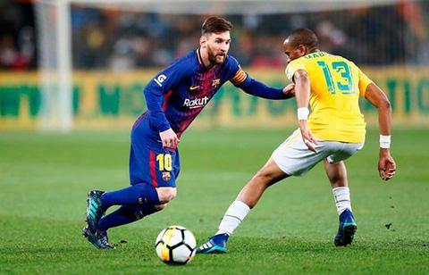 Clip bàn thắng Mamelodi Sundowns vs Barca 1-3 Giao hữu hình ảnh