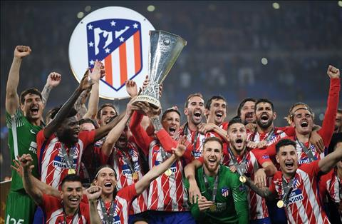 Atletico dang quang europa League