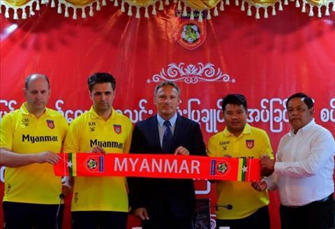 Myanmar tin dùng HLV Antonie Hey để đấu ĐT Việt Nam tại AFF Cup hình ảnh