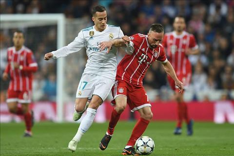 Vazquez gap kho o tran Real vs Bayern