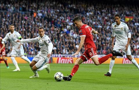 Tien dao Robert Lewandowski tran Real vs Bayern da choi rat te hinh anh