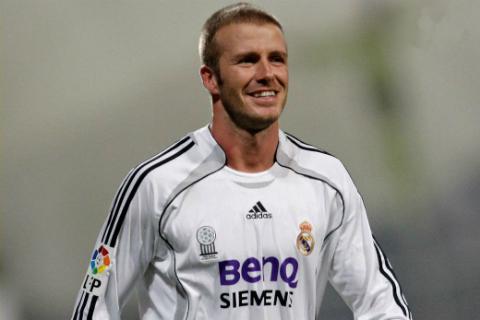 David Beckham va 4 nam lam lop son vang tren chiec xe hoi Real Madrid1