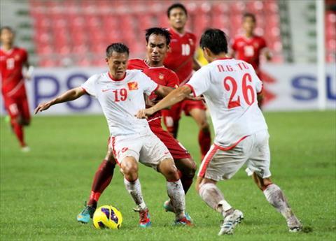 Tran hoa Myanmar khien DT Viet Nam bi loai ngay o vong bang AFF Cup 2012.