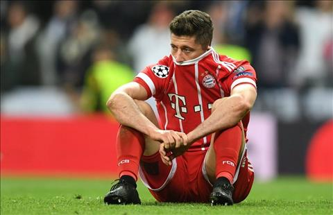 Robert Lewandowski cua Bayern