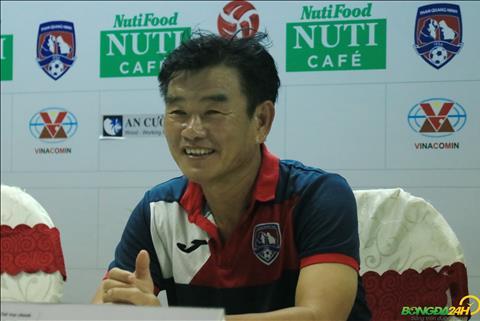 HLV Phan Thanh Hung khong qua buon rau du Quang Ninh bai tran.