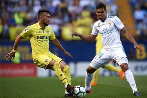 Villarreal vs Real Casemiro