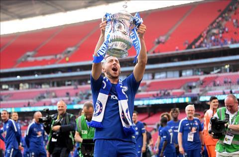 Eden Hazard vo dich FA Cup