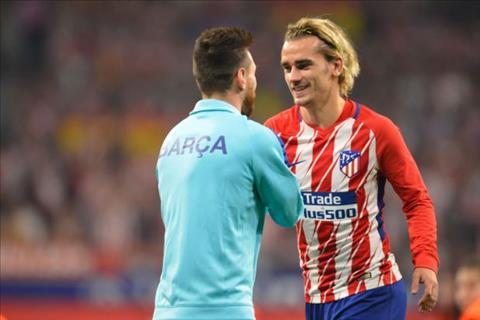 Messi la nguoi thuyet phuc Griezmann toi Barca
