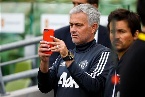 Mourinho thi thoang dang anh len trang Instagram ca nhan