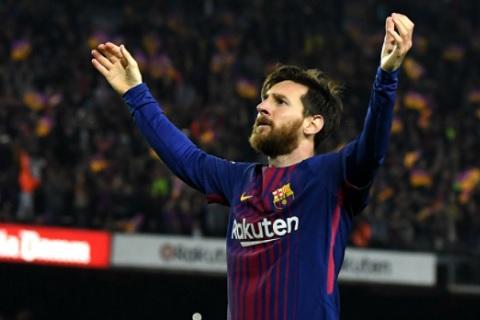 Messi giành Chiếc giày Vàng châu Âu lần thứ 5 trong sự nghiệp hình ảnh