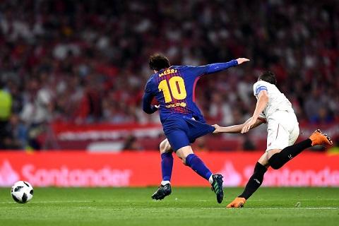 Messi vô địch La Liga qua những con số hình ảnh
