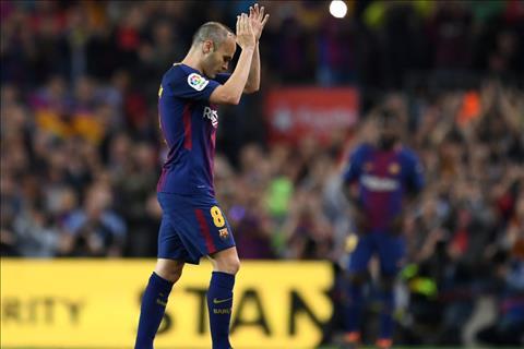 tien ve Andres Iniesta chia tay Barca
