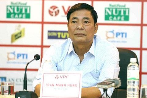 Ông Trần Mạnh Hùng sẽ bị VPF xử lý kỷ luật vào chiều nay hình ảnh