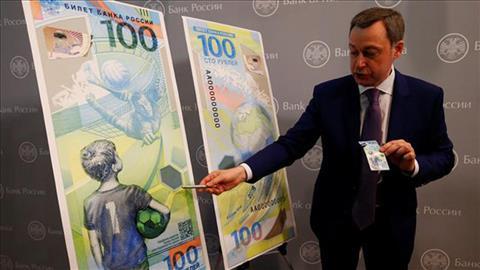 Nước Nga phát hành tiền kỷ niệm World Cup 2018 hình ảnh