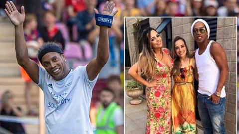 Huyền thoại Ronaldinho lấy vợ kép, cưới hai người phụ nữ hình ảnh