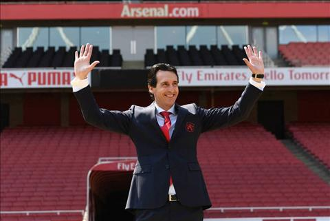 Emery tro thanh HLV Arsenal