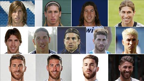 Ramos trong mau ao Real
