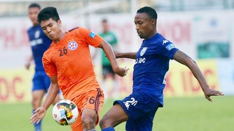 Tong hop: Da Nang 0-0 Binh Duong (Vong 9 V-League 2018)