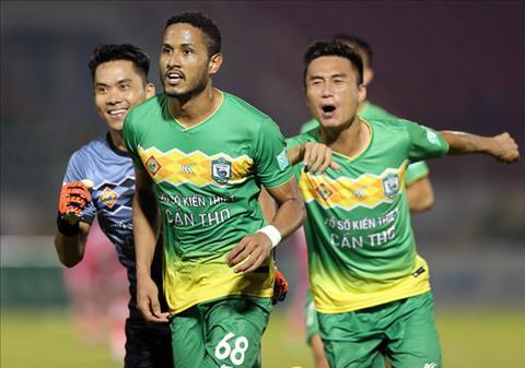 Kết quả Sài Gòn vs Cần Thơ 1-2 trận đấu vòng 9 V-League 2018 hình ảnh